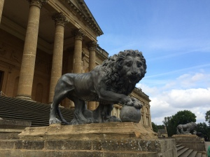 A lion at Stowe